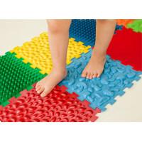 """Mata sensoryczna do masażu stóp """"Puzzle Mix"""" 10 elementów"""